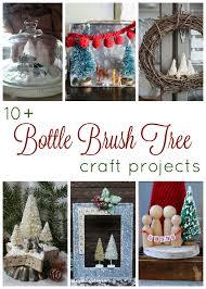 bottle brush tree diorama u0026 10 other bottle brush tree crafts