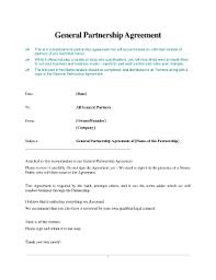 partnership agreement form templates fillable u0026 printable