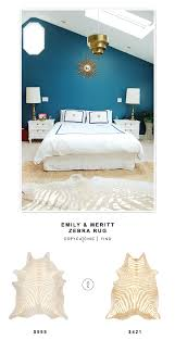 Pottery Barn Teen Rugs Pottery Barn Teen Emily And Meritt Zebra Rug Copycatchic