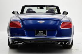 blue bentley 2017 2017 bentley continental gt v8 s convertible