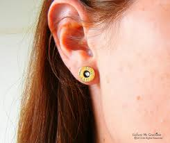 bullet stud earrings swarovski bullet stud earrings smith and wesson 14k gold filled