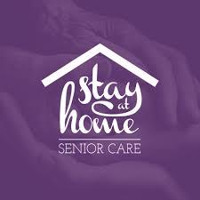 At Home Logo Brand Identity Logo Design For Stay At Home Senior Care