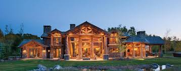precisioncraft luxury timber and log homes cabin for sale picture