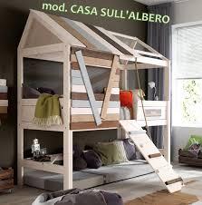 letto casa letto casa sull albero letto legno treehouse da bambini