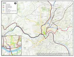 Houston Metro Bus Map by Transit 2040 Regional Transportation Plan