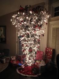 my upside down christmas tree christmas tree themes pinterest