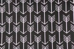 Black Drapery Fabric Premier Prints Canopy Stripe Drapery Fabric In Black U0026 White