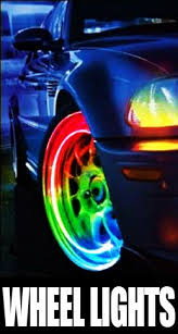 amazon led auto lights amazon com amazing color changing led car and bicycle wheel lights