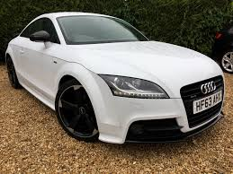 used audi tt black edition for sale motors co uk