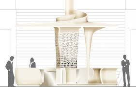 Reception Desk Plan Pwc Cafe Reception Desk Design By Joi Design Interior Design
