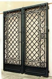 Steel Interior Security Doors Best 25 Grill Gate Ideas On Pinterest Door Grill Grill Design