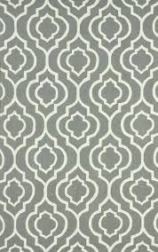 Gray Moroccan Rug Poppy 100 Wool Area Rug In Grey Design By Nuloom Papeis