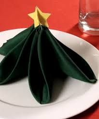 tree napkin folding rainforest islands ferry