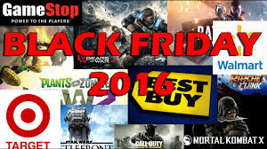 target black friday video game black friday 2016 gamestop best buy target and walmart youtube
