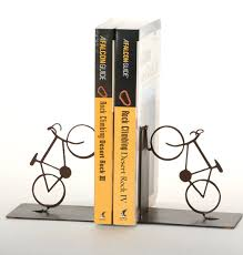 Cycling Home Decor Road Bicycle Bookends Cycling Home Decor By Shineonsportygirl