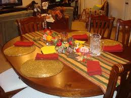 table setting thanksgiving 2012 food buzz