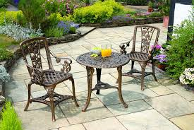 Bistro Patio Table Gablemere 2 Seater Plastic Design Patio Set With Bistro