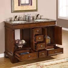 48 u201d perfecta pa 181 bathroom vanity double sink cabinet red