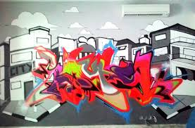 home indonesia mural jasa lukis mural 3d trick art graffiti