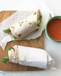 Dinner Ideas For Cold Weather Wrap Sandwich And Burrito Recipes Martha Stewart