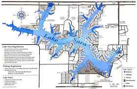 Map Of The State Of Illinois by Boating Effingham Water Authority