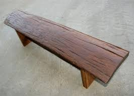 bench wein reclaimed bleacher wood with regard to new residence