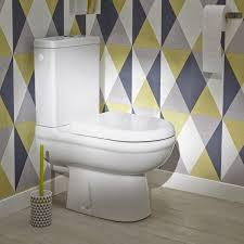 toilette sous escalier pack wc à poser sortie horizontale ideal standard exacto leroy