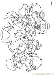 alice wonderland coloring 08 coloring free alice