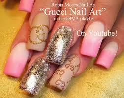 robin moses nail art long and fierce nail art up for monday pink