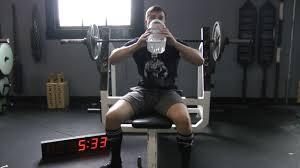 corey davis 100 rep bench press bodyweight challenge youtube