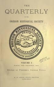 bibliography of oregon history wikipedia