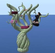 second marketplace animated tree