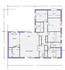plan de maison 100m2 3 chambres plan maison 3 chambres plan maison carr plans maisons