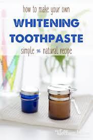 natural whitening toothpaste recipe wellness mama
