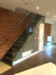 Glass Banister Staircase Super Glass U0026 Mirror Glass Railings