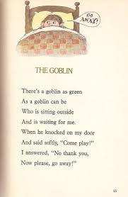 the haunted closet the goblin prelutsky 1977