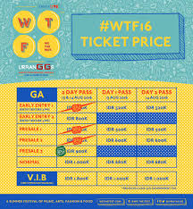 we the on wtf16 ticket update daily pass tickets