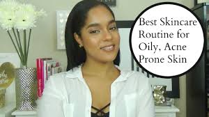 best skincare routine ever for oily acne prone sensitive skin