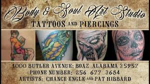 tattoo shops near me in alabama body and soul art studio home facebook