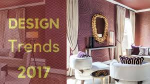interior design trends 2017 cherry color in home decor best