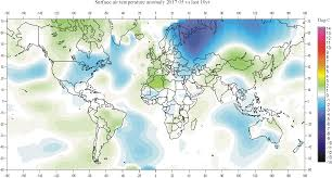 World Map With Equator Climate4you Globaltemperatures