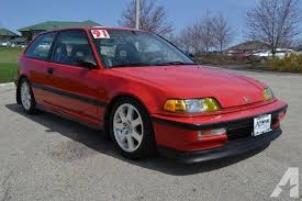 1991 honda civic si ef hatch jdm d15y5 b16 for sale in sycamore