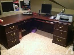 Wood L Shaped Desk L Shaped Professional Grade Cherry Wood Executive Desk Chair