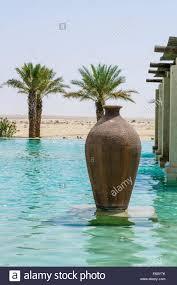 Desert Patio Swimming Pool Deck Vase Desert Patio Area At The Bab Al Shams