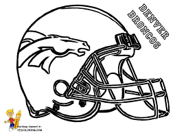 Coloring Pages Football Helmet Many Interesting Cliparts Football Coloring Page