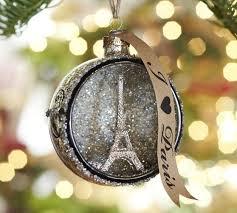 orb glass ornament pottery barn parisian ornaments