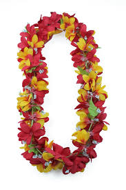 plumeria flowers luau party artificial fabric plumeria flower yellow