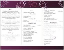 Wedding Programs Trifold Vista Print Programs Not Big Enough Weddings Planning