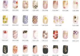 air brush nails stickers from m u0026 g co ltd b2b marketplace