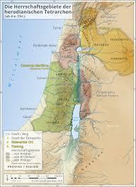 Gennesaret Map 8 The Heirs Of Herod The Great Digitaler Ausstellungskatalog